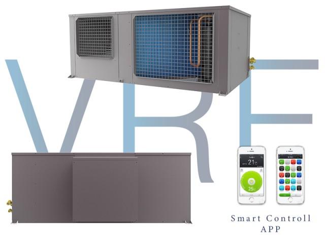 Climatizzazione senza unità esterna ELFO VRF