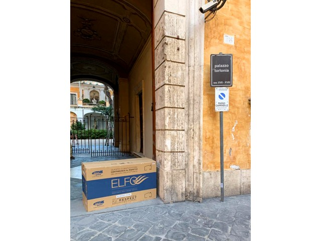 Historic center of Rome - ELFO invisible air-to-air air conditioner