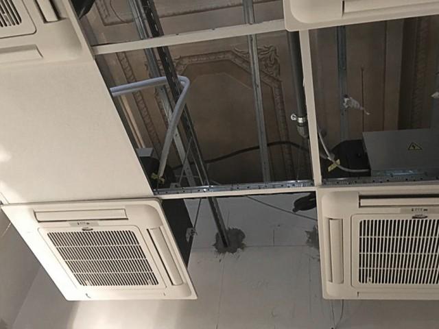 Centro storico di Roma - Installazione Condizionatori senza unità esterna ELFO