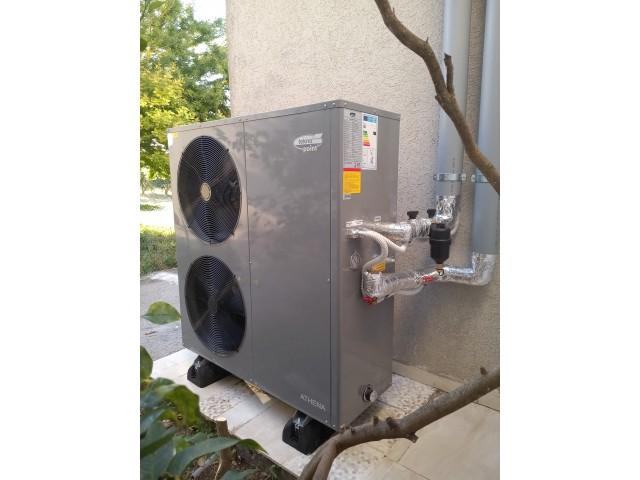 Provincia di Catania  - Installazione di una pompa di calore Athena R32