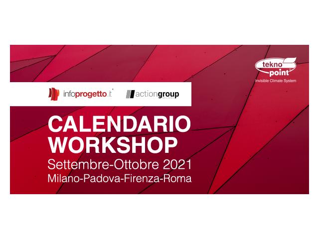 Ricominciano i workshop in presenza organizzati da Infoprogetto per la seconda metà del 2021