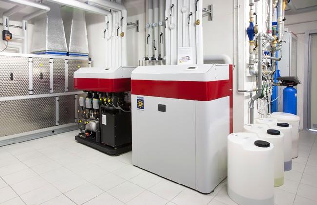Realizzazione dell'impianto geotermico nella sede dell'azienda Cetra