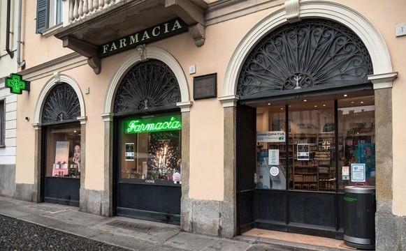 WINE, il climatizzatore ideale per gli ambienti isolati, è stato installato in una farmacia in provincia di Pavia