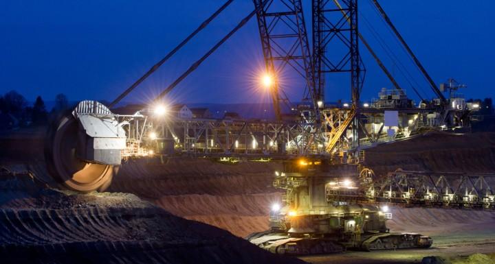 Mining areas
