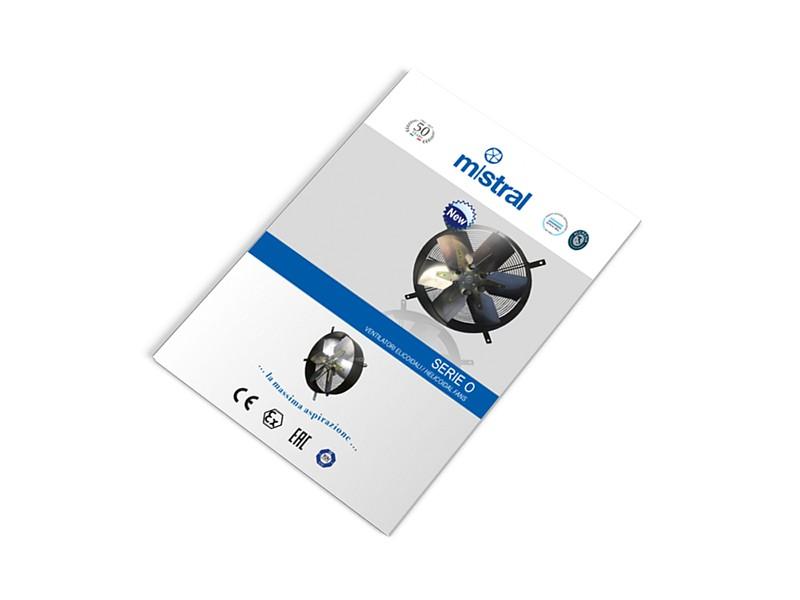 Ventilatori elicoidali Serie O: grandi volumi d'aria convogliati e funzionamento silenzioso