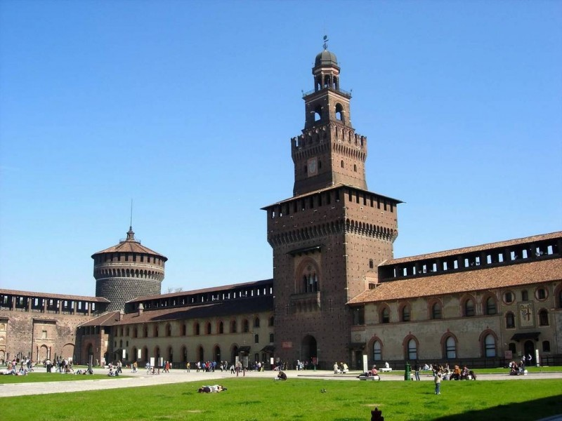 Castello Sforzesco Milan - Publication