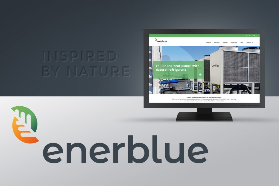 Important news from ENERBLUE: a new graphic restyling to strengthen the brand identity