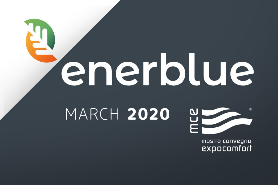 Green solutions for heating and air conditioning by Enerblue at MCE 2020