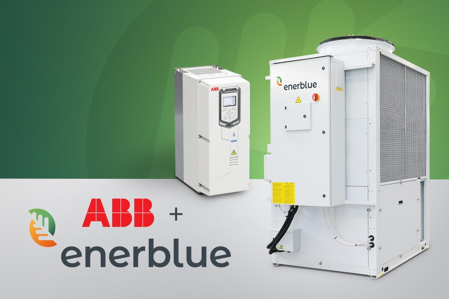 ABB drives help Enerblue products reduce electromagnetic pollution