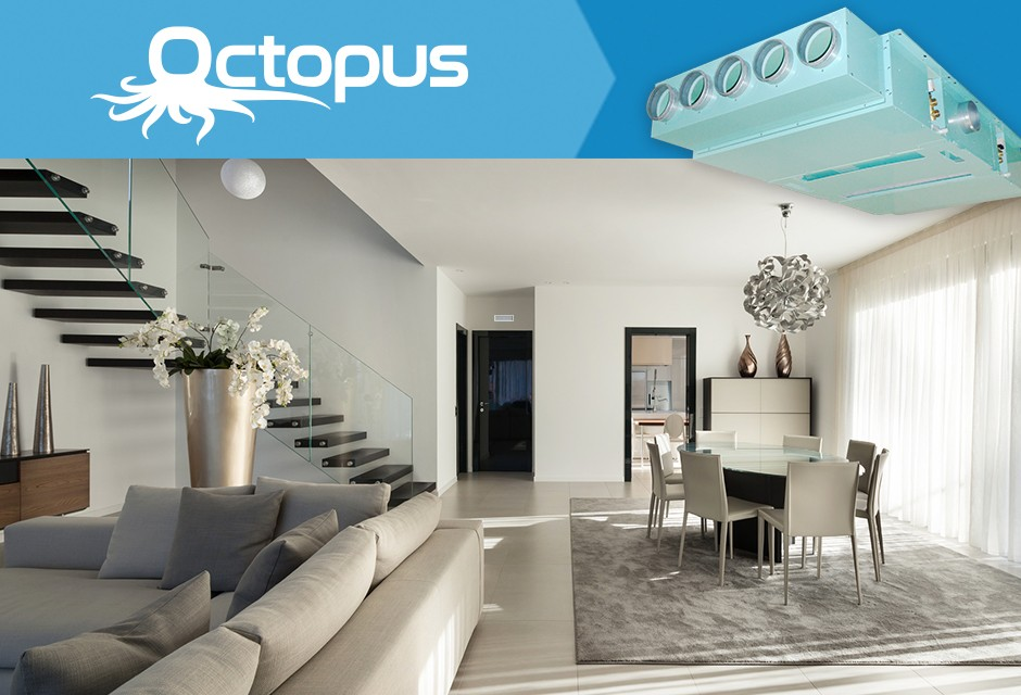 With Octopus you can say goodbye to the harmful radon gas