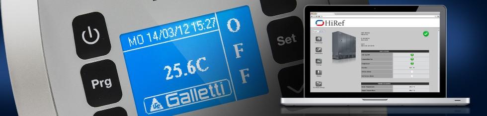 Controlli per chiller e pompe di calore