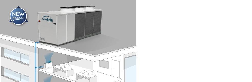 Grande configurabilità e efficienza ai carichi parziali SCX