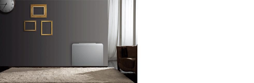 Ventilconvettore con mobile di design profondo 17 cm FLAT S